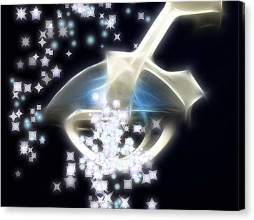 Dream Infusion Canvas Print by Wendy J St Christopher