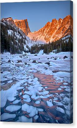 Dream Lake - Rocky Mountain National Park Canvas Print