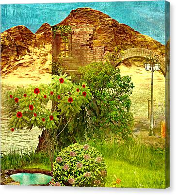 Dream Land Canvas Print by Ally  White