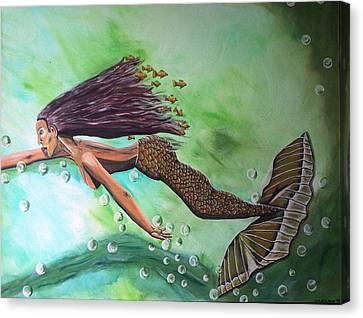 Dream Canvas Print by Mamu Art