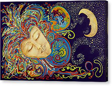 Dream Mask Canvas Print