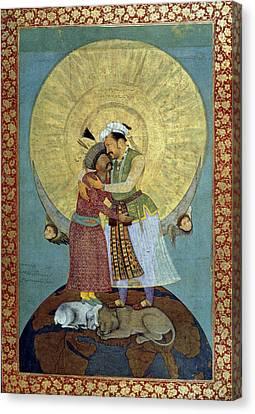 Dream Of Jahangir Canvas Print by Granger