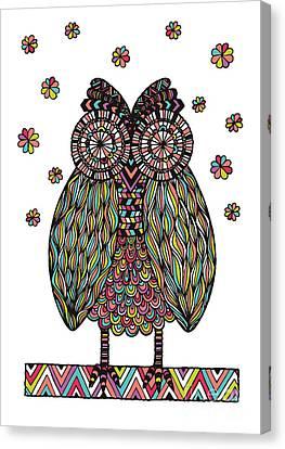 Susan Canvas Print - Dream Owl by Susan Claire