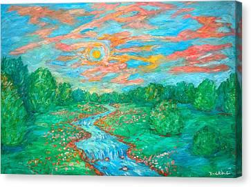 Dream River Canvas Print