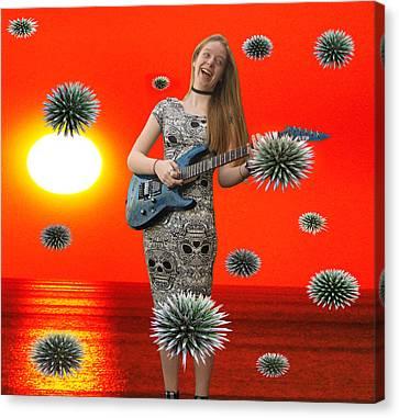 Dream Rock An Roll  Canvas Print by Eric Kempson