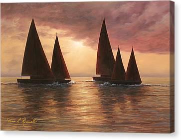 Dream Sails Canvas Print