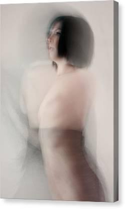 Breasts Canvas Print - Dream Series 6 by Joe Kozlowski