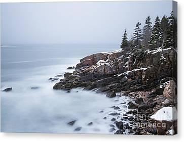 Maine Winter Canvas Print - Dream State by Evelina Kremsdorf