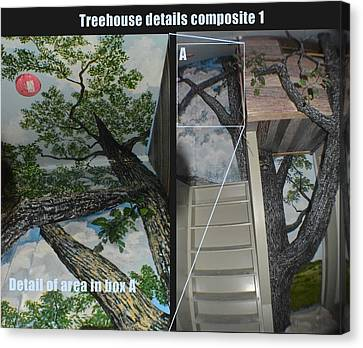 Dream Treehouse Canvas Print by Dan Terry