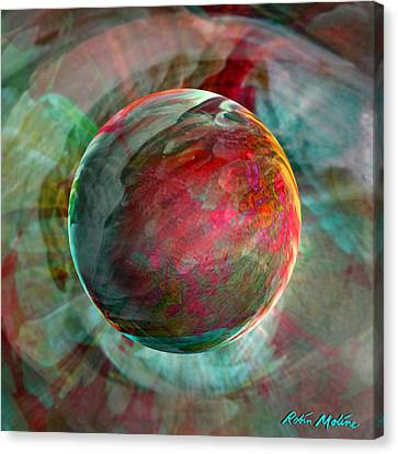 Airy Canvas Print - Dream Weaving by Robin Moline