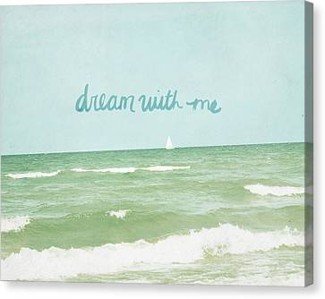 Dream With Me Canvas Print by Lisa Barbero