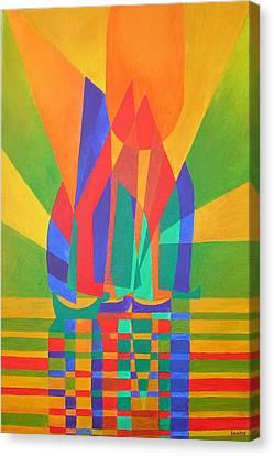 Dreamboat Canvas Print by Tracey Harrington-Simpson