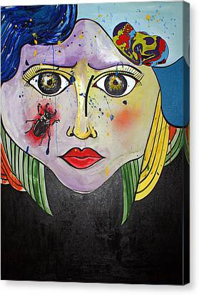 Dreamcatcher Canvas Print by Sanne Rosenmay