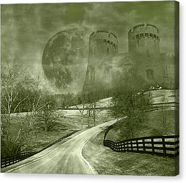 Mystical Landscape Canvas Print - Dreamer Kingdom by Betsy Knapp