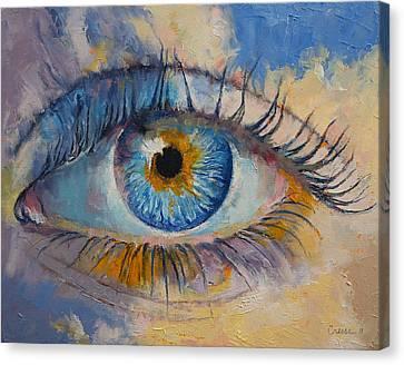 Eye Canvas Print by Michael Creese