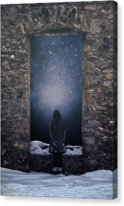 Dreaming In Snow Canvas Print