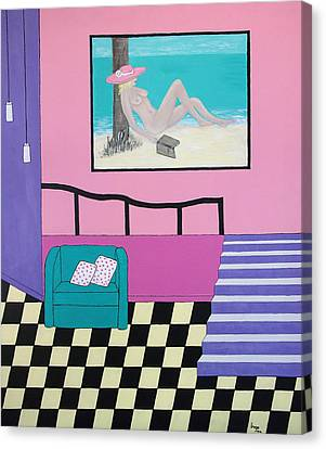 Dreaming Canvas Print by Inge Lewis