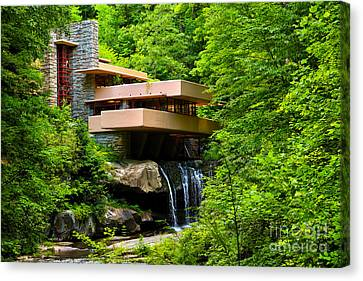 Dreaming Of Fallingwater 4 Canvas Print