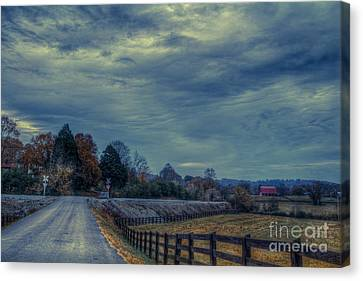 Hdr Landscape Canvas Print - Dreaming Of Life Less Complicated by Sherri Duncan