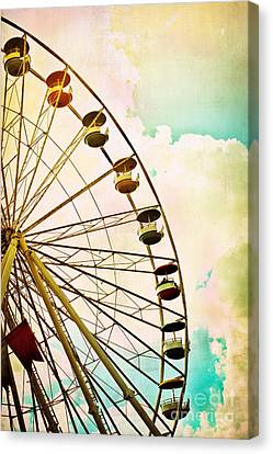 Dreaming Of Summer - Ferris Wheel Canvas Print