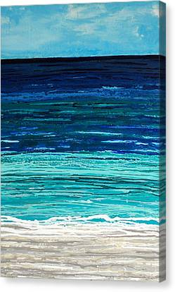 Dreaming Of The Sea Canvas Print