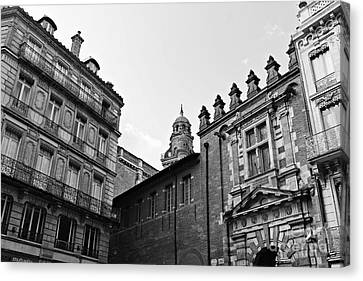 Canvas Print featuring the photograph Dreaming Of Toulouse by Cendrine Marrouat
