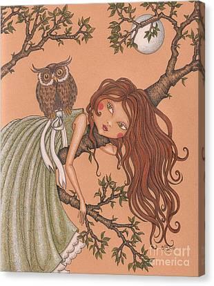 Dreaming Canvas Print by Snezana Kragulj
