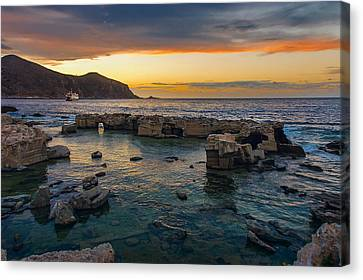 Dreaming Sunset Canvas Print