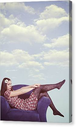 Dreaming To Fly Canvas Print by Joana Kruse