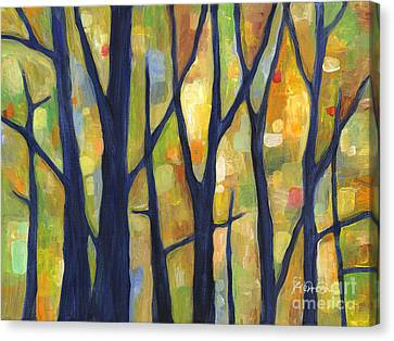 Dreaming Trees 2 Canvas Print by Hailey E Herrera