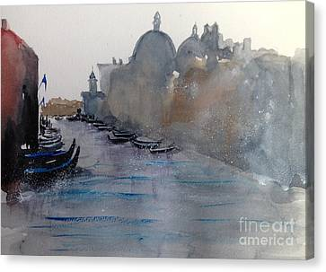 Dreaming Venice Canvas Print by Gianni Raineri