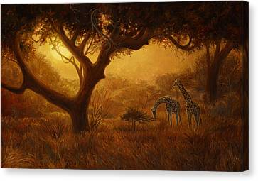 Dreamland Canvas Print by Lucie Bilodeau