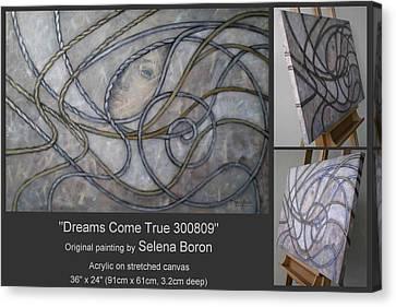 Dreams Come True 300809 Canvas Print by Selena Boron