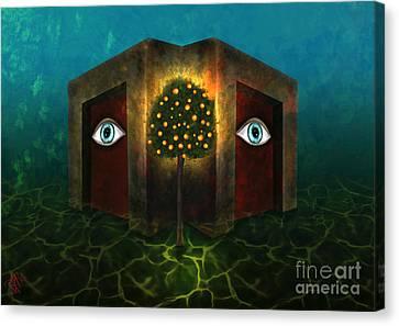 Dreams Do Not Sleep Canvas Print by Rosa Cobos