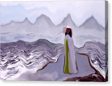 Dreams #049 Canvas Print by Viggo Mortensen