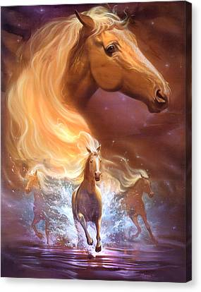 Dreams Need Hope To Run Free Canvas Print by Jeff Haynie