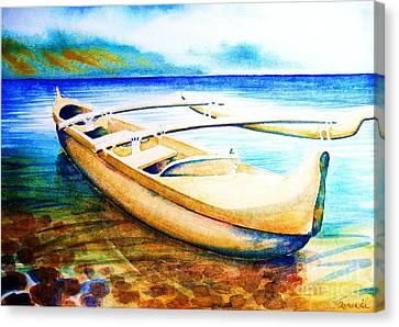 Dreams Of Polynesia Canvas Print