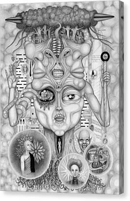 Dreams Of The Deity Canvas Print by Kris Milo