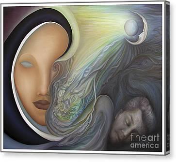 Dreamscape Canvas Print by Joanna Pregon