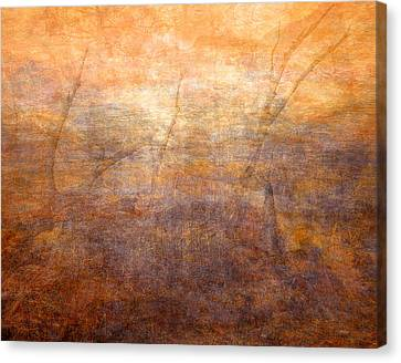Warm Canvas Print - Dreamscape by Leland D Howard