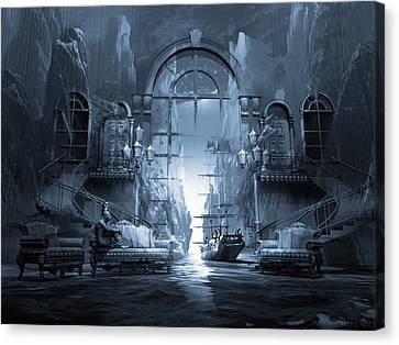 Dreamscape Reality Canvas Print by George Grie
