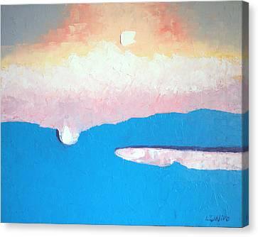 Dreamscape Vi Canvas Print by Laura Tasheiko