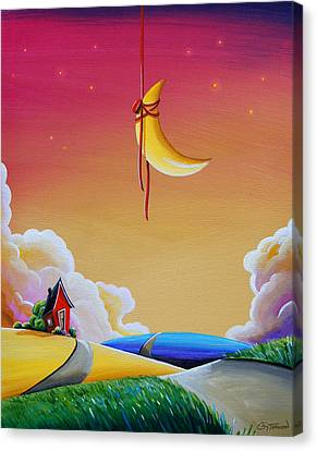 Dreamville Canvas Print by Cindy Thornton