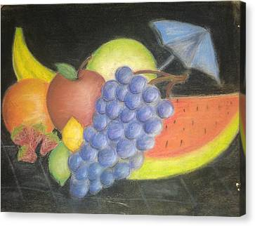 Dreamy Fruit Canvas Print by Tracy Lawrence
