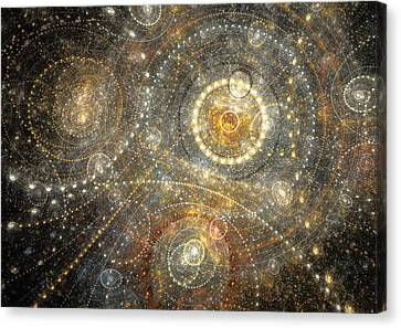 Dreamy Orrery Canvas Print