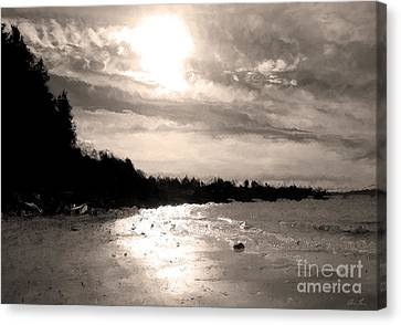 Dreamy Tides Canvas Print