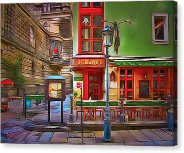 Dresden 2 Canvas Print by Yury Malkov