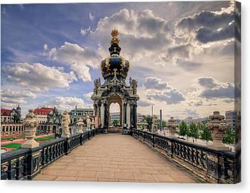 Dresden Kronentor Canvas Print