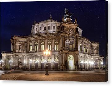 Dresden Semperopera Canvas Print by Steffen Gierok