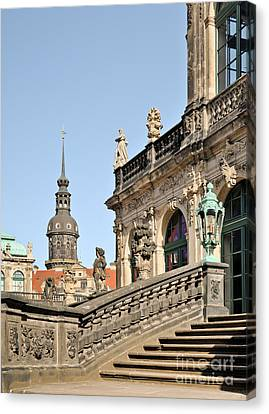 Dresden Zwinger Canvas Print by Torsten Becker